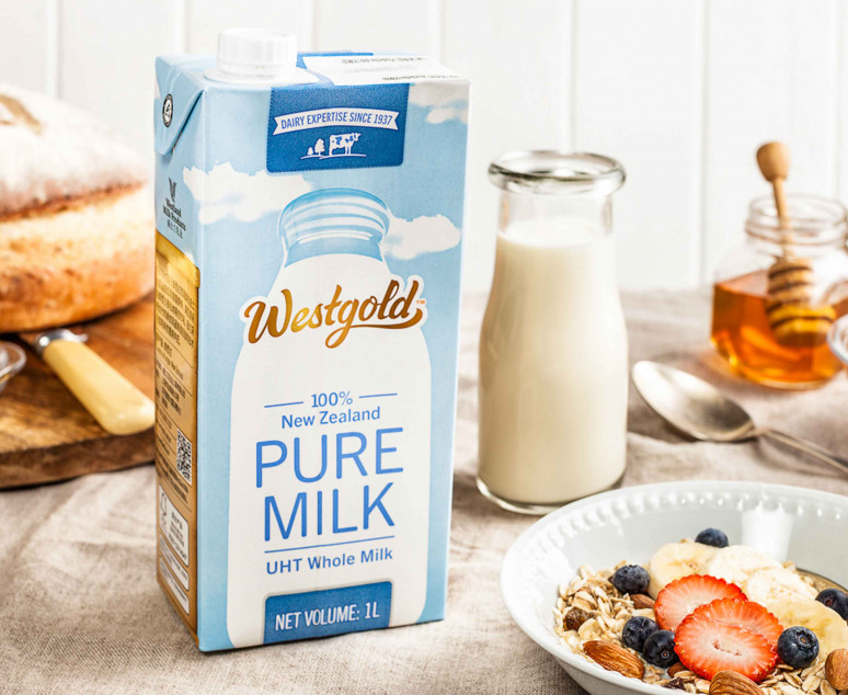 uht milk Westland Milk Products Dairy NZ uht milk